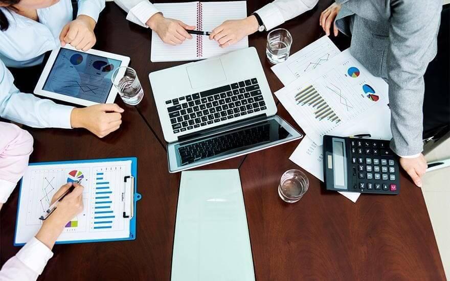 Spotkanie biznesowe pracowników